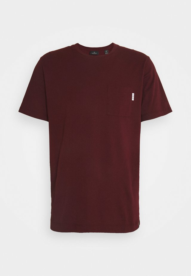 POCKET TEE - Basic T-shirt - nomade red