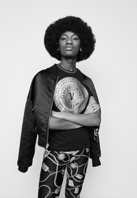 Versace Jeans Couture - Leggings - Trousers - black - 3