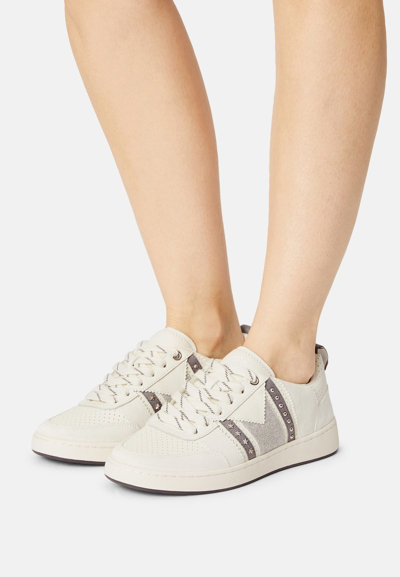 maje - 221FURIOUSGLITTER - Trainers - argent