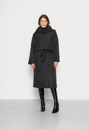 SLFBONNA COAT WITH VEST - Cappotto classico - black
