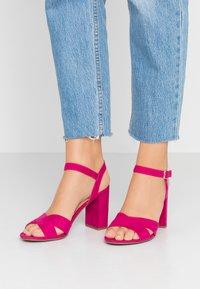 Dorothy Perkins - SERENA UPDATE - High heeled sandals - bright pink - 0
