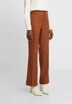 FARRAH TWIGGY PANT - Bukse - brown