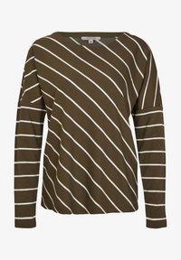 khaki diagonal stripes