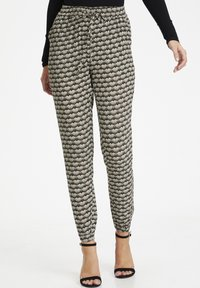 Kaffe - ROKA AMBER PANTS - Trousers - grape leaf  fan print - 0