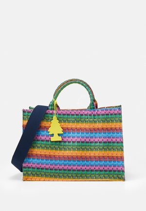 SUNNY BAY SHOPPER SET - Tote bag - blue