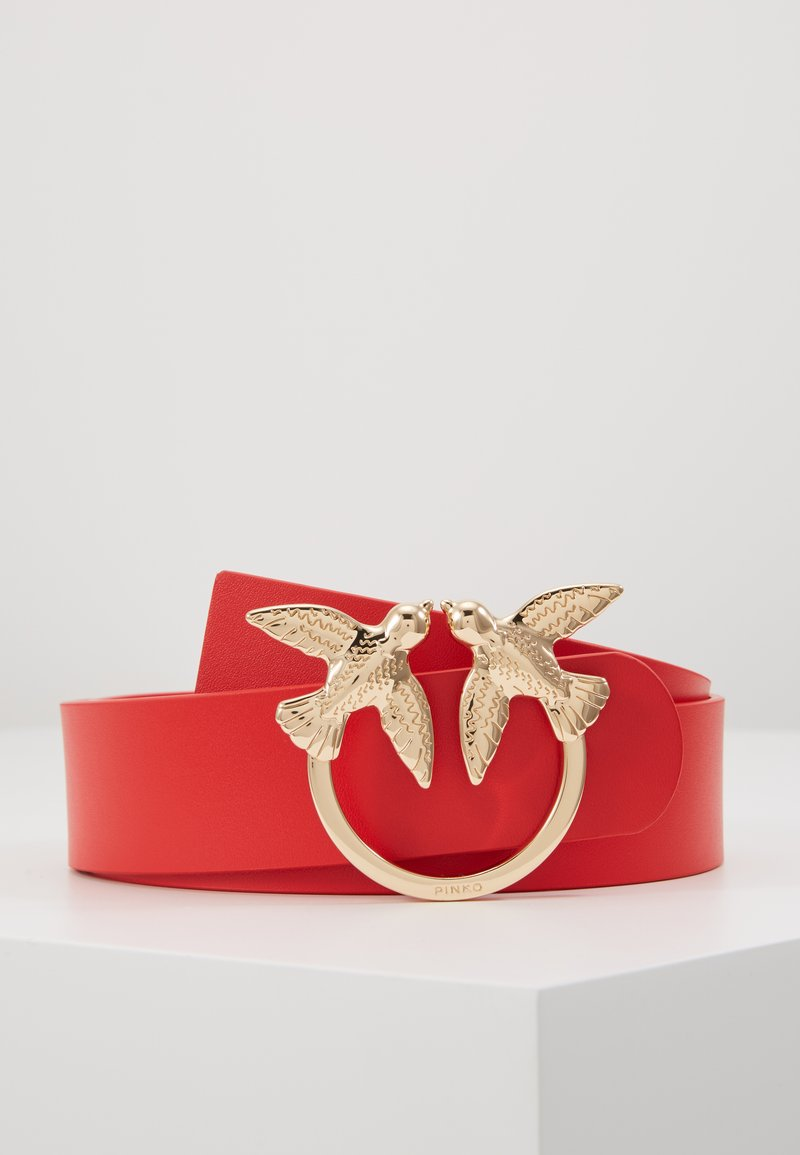 Pinko - BERRI SIMPLY BELT - Pasek - red