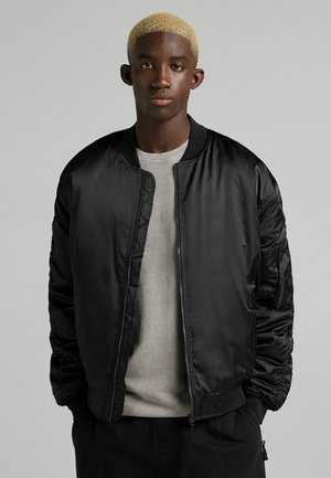 QUILTED  - Bomberjacka - black