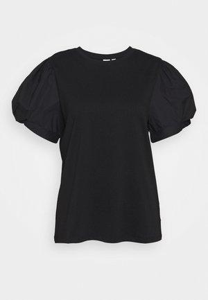 MIX PUFF - T-shirt con stampa - true black