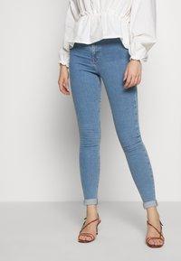 Topshop Tall - JONI CLEAN - Jeans Skinny Fit - blue - 0
