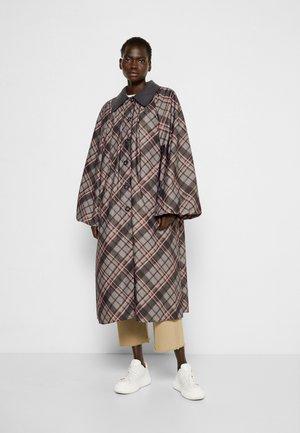 TRENCH COAT - Classic coat - fantasy print grey