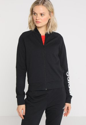 NEW MARK SET - Tracksuit - black/white