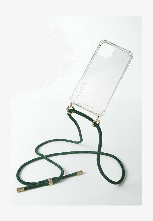 Phone case - dunkelgrün