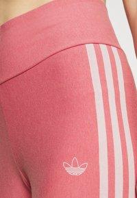 adidas Originals - TIGHTS - Leggings - Trousers - hazy rose/white - 4