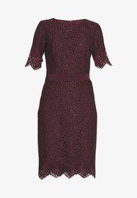 HUGO - KLEAS - Pouzdrové šaty - medium red - 4