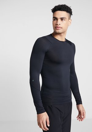 RUSH COMPRESSION - Sports shirt - black