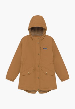 GIRLS INSULATED ISTHMUS - Winter coat - umber brown