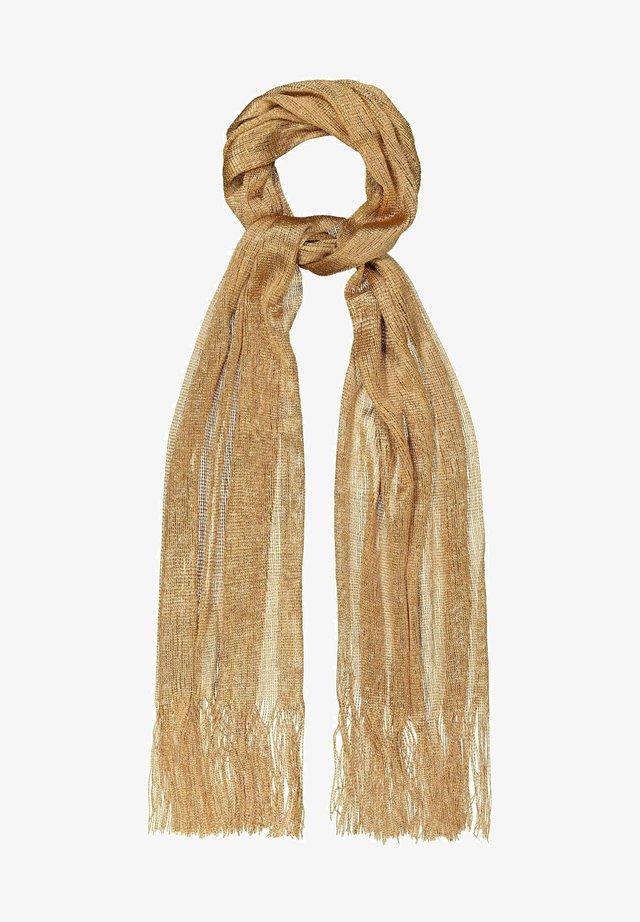 Sjaal - gold