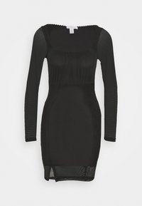 Topshop - MINI - Shift dress - black - 4