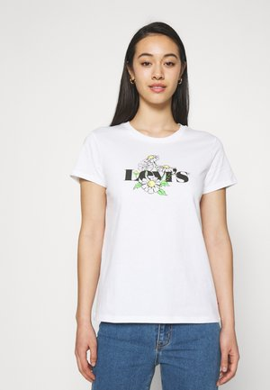 THE PERFECT TEE - T-shirt imprimé - white