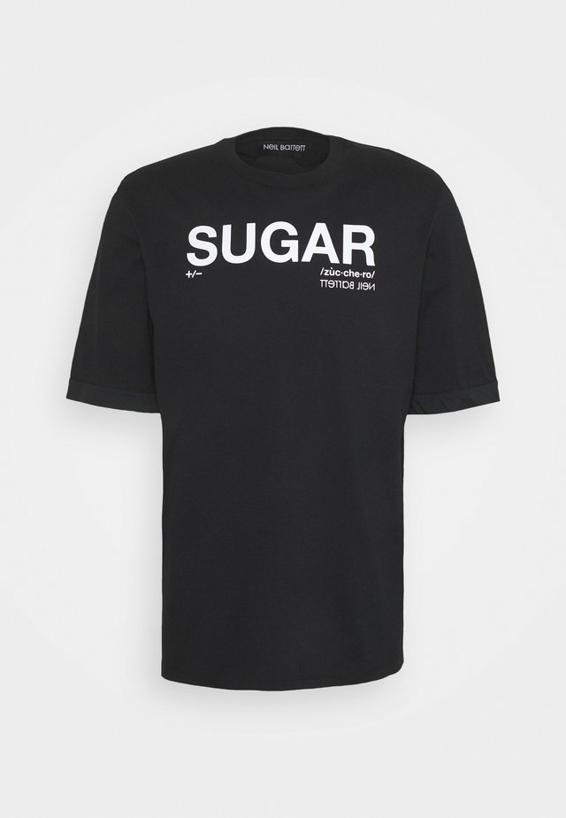 SUGAR  - T-shirt print - black/white