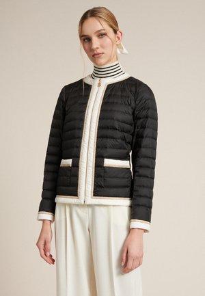 VENUTI - Down jacket - black/ off-white