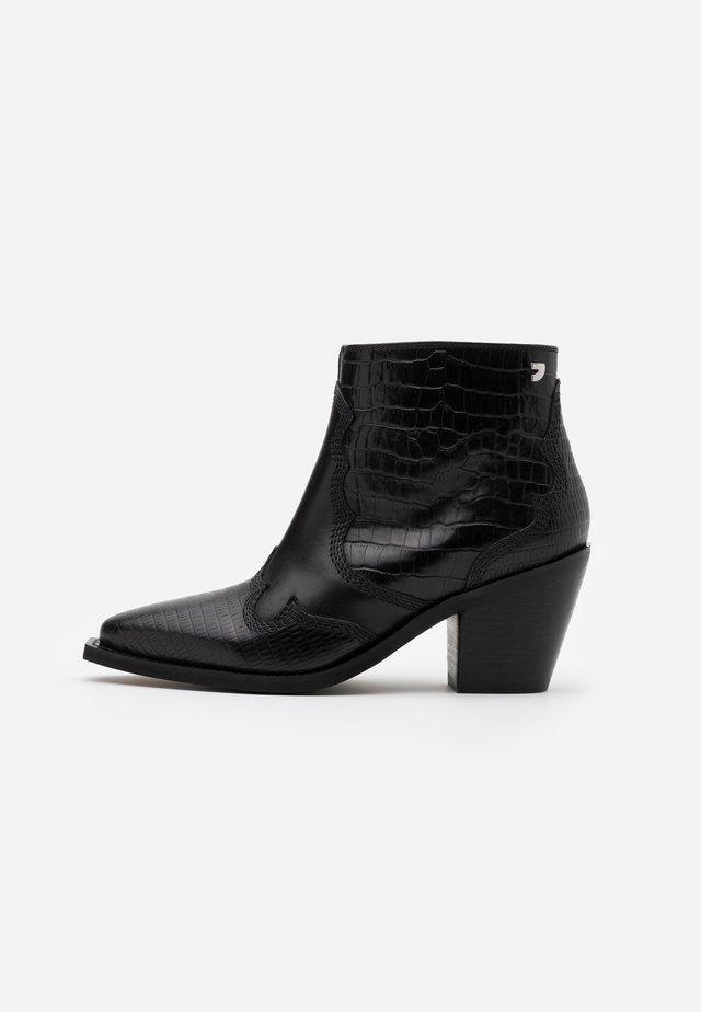 RENCHEN - Korte laarzen - black