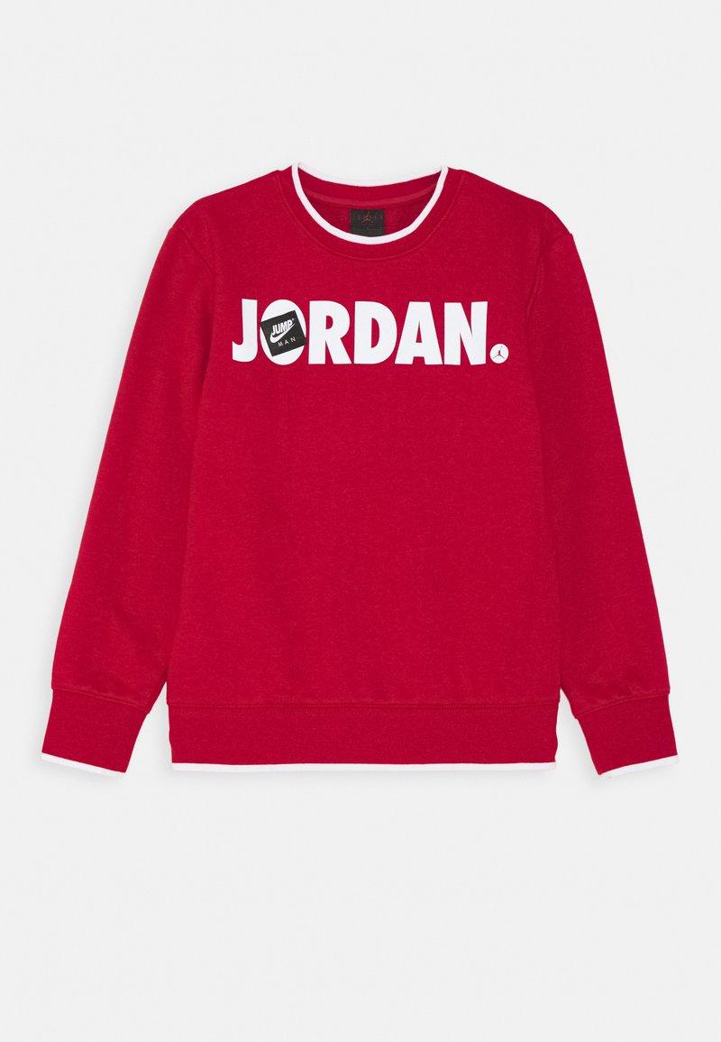 Jordan - JUMPMAN CREW UNISEX - Sudadera - gym red