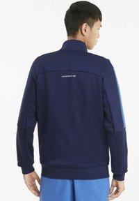 Puma - PORSCHE LEGACY T7 - Zip-up hoodie - peacoat - 2