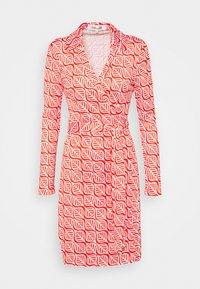 Diane von Furstenberg - NEW JEANNE - Jersey dress - ibiza red - 3