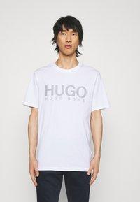 HUGO - DOLIVE - T-shirts print - white - 0