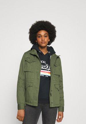 CLASSIC ROOKIE BORG JACKET - Summer jacket - khaki