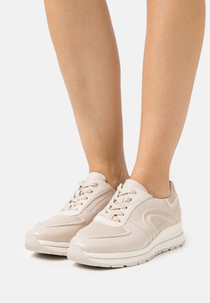 LACE UP - Trainers - cream