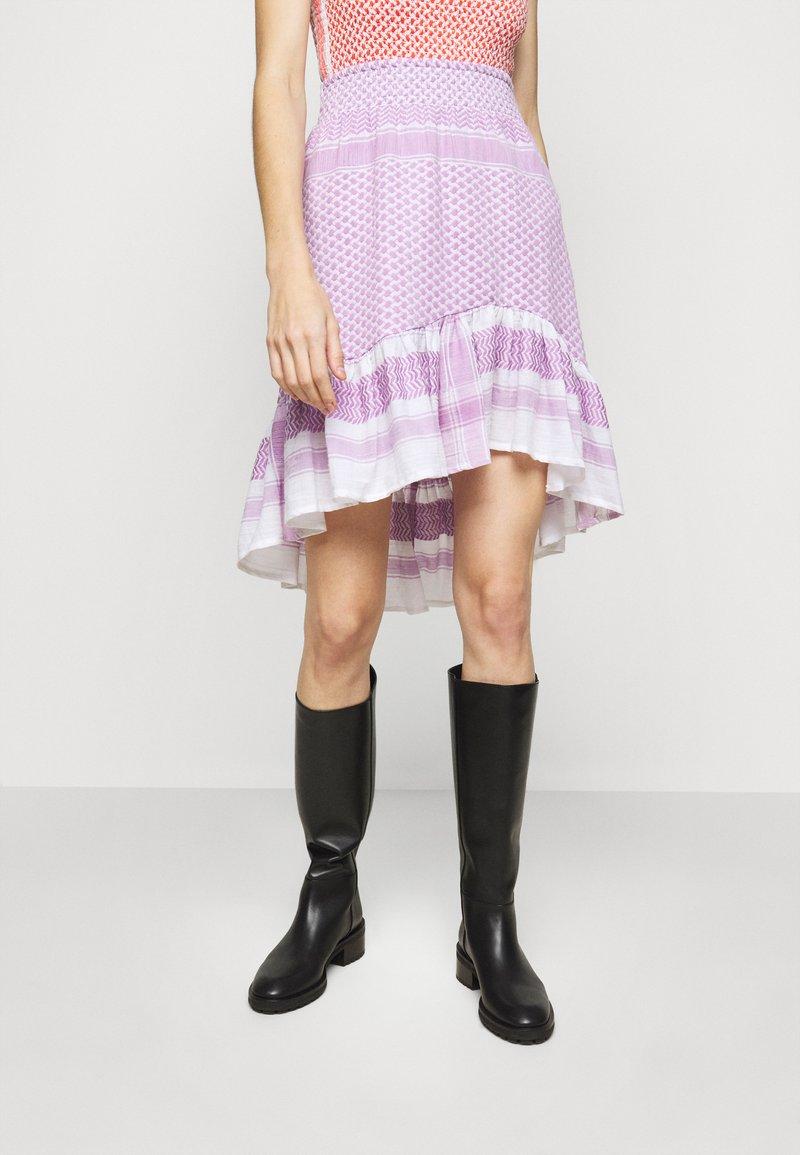 CECILIE copenhagen - STINNE - A-linjainen hame - purple