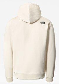 The North Face - M SHOULDER BOX HD - Sweatshirt - vintage white/tnf black - 1