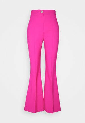 HANNAH EASY FLARE - Trousers - pink
