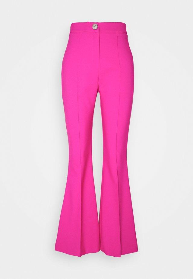 HANNAH EASY FLARE - Pantalon classique - pink