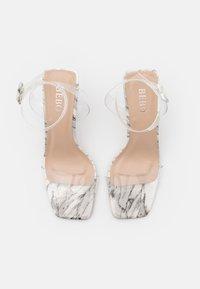 BEBO - VERITY - High heeled sandals - white - 3
