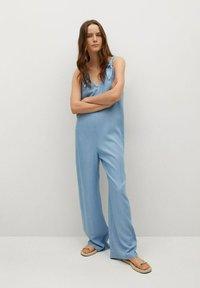 Mango - Overall / Jumpsuit - medium blue - 0