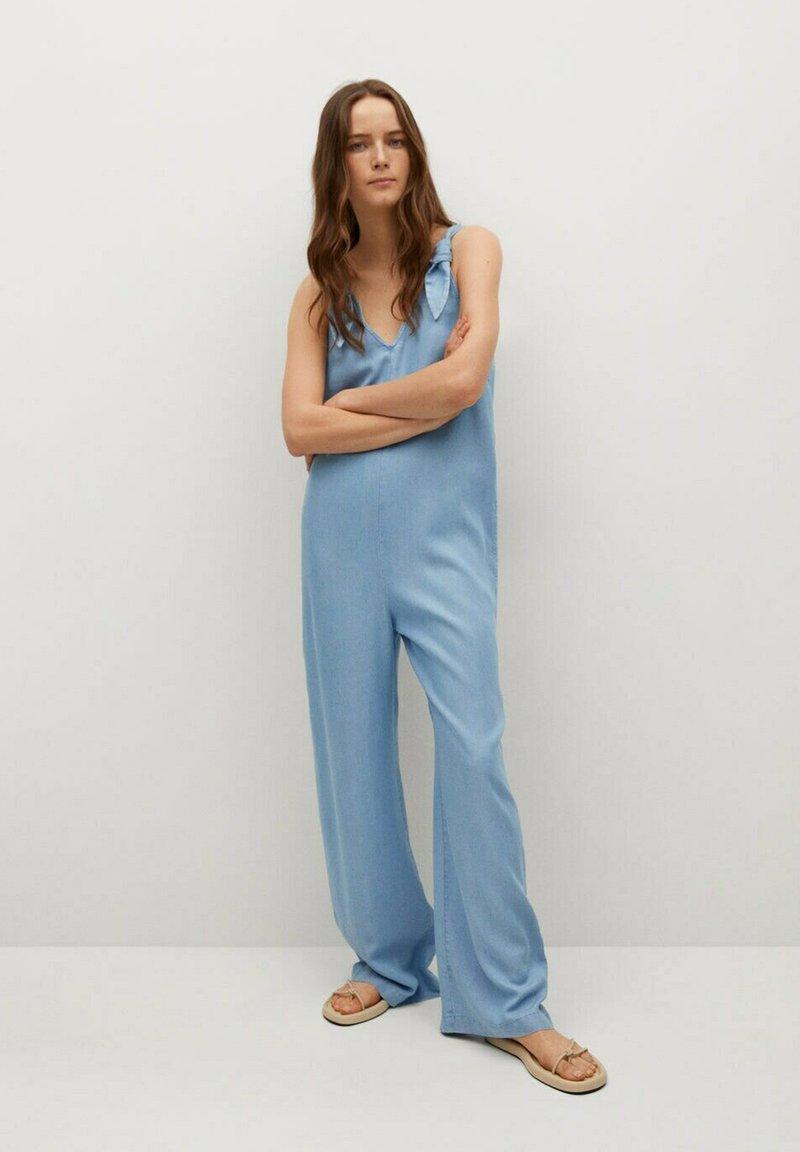 Mango - Overall / Jumpsuit - medium blue