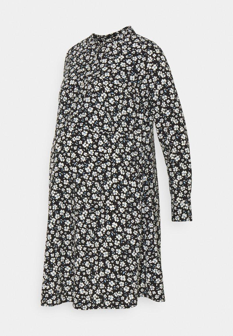 Dorothy Perkins Maternity - SHIRT DRESS - Blousejurk - black