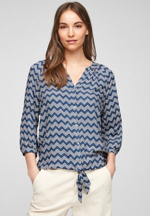 Blouse - blue stripes
