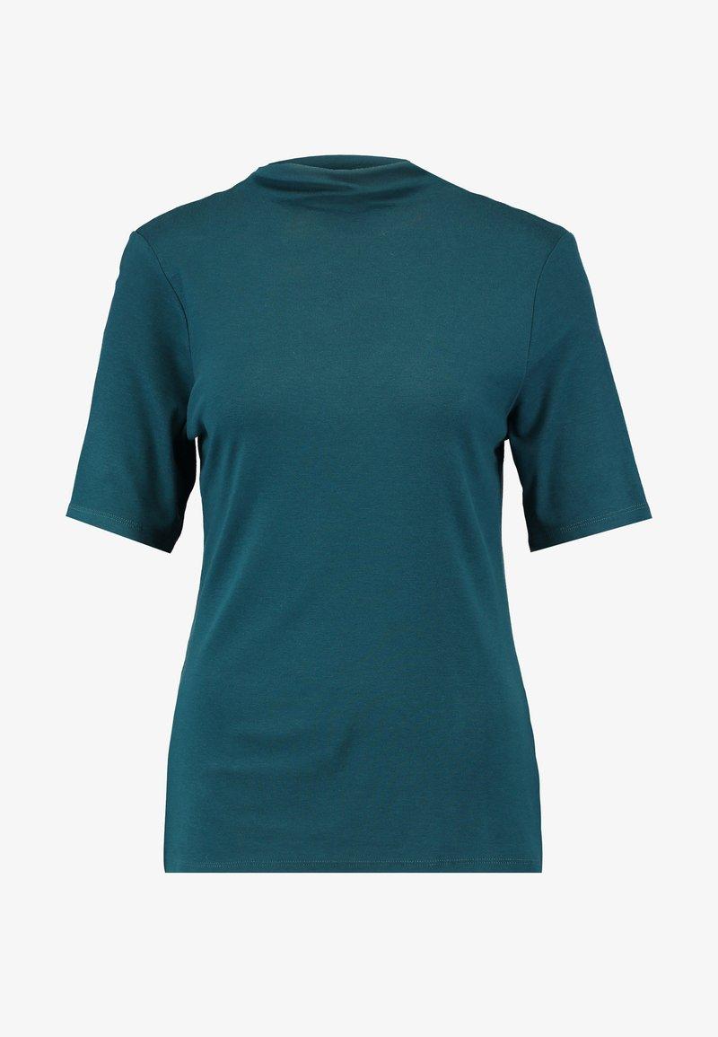 Rich & Royal FUNNEL NECK - T-Shirt basic - white/offwhite rLz49d