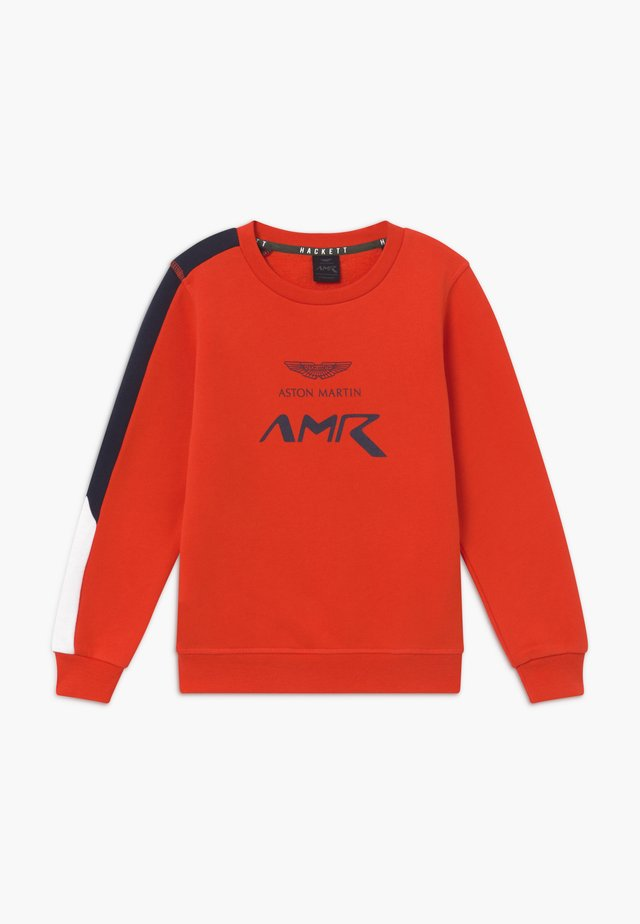 AMR LOGO CREW - Sweatshirts - orange lacquer