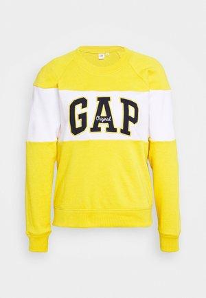 ORIGINAL CREW - Sweatshirt - rainslicker yellow