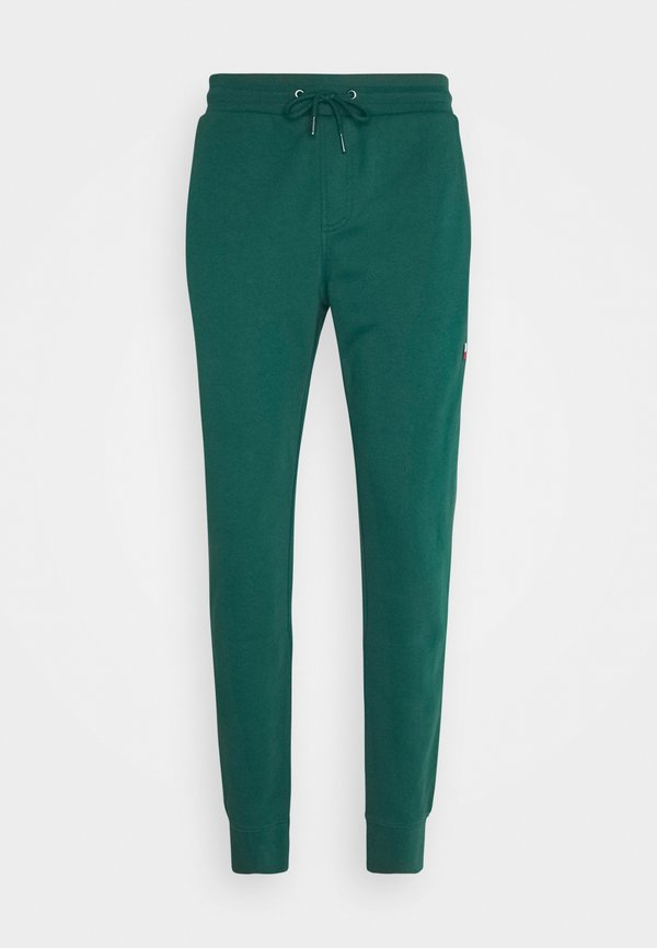 Tommy Hilfiger ESSENTIAL - Spodnie treningowe - rural green/ciemnozielony Odzież Męska GTMQ