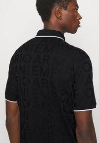 Emporio Armani - Polo shirt - nero - 5