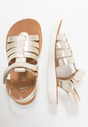 GOA SPART - Sandals - platine