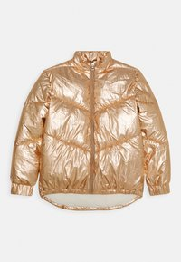 Guess - JUNIOR HIGH LOW PADDED - Zimní bunda - light copper multi - 0