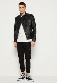 Be Edgy - KANNON - Leather jacket - black - 3