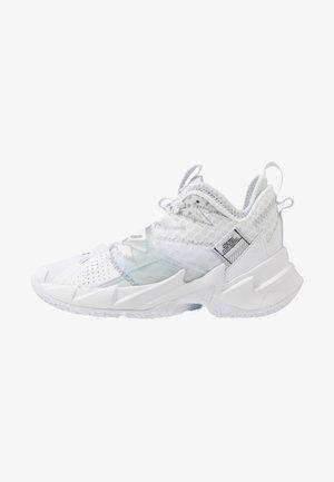 WHY NOT ZER0.3 - Basketbalschoenen - white/metallic silver/black